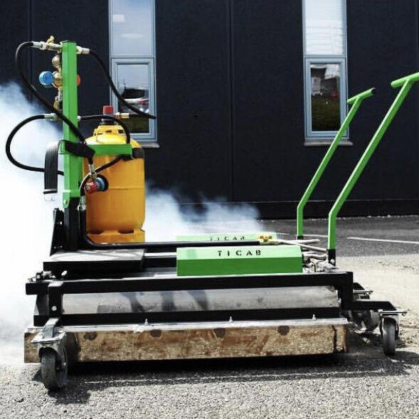 nieuw TICAB Asphalt Heating machine asfalt heater