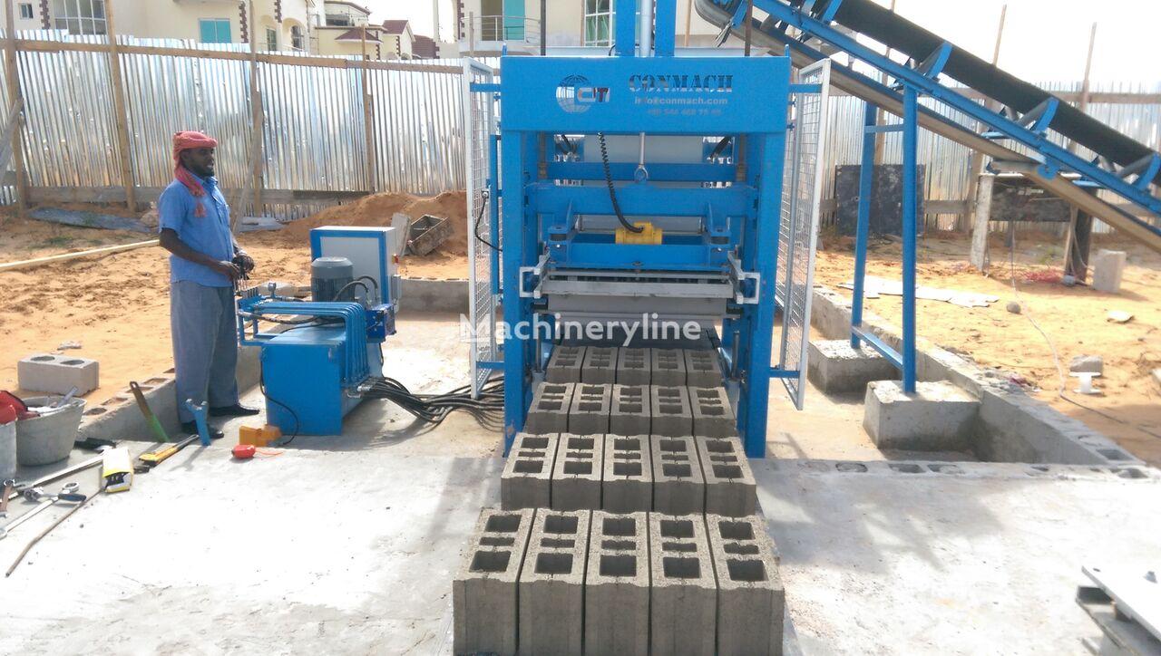 nieuw CONMACH BLOCKKING-12MS Concrete Block Making Machine - 4.000 units/shift betonblok machine