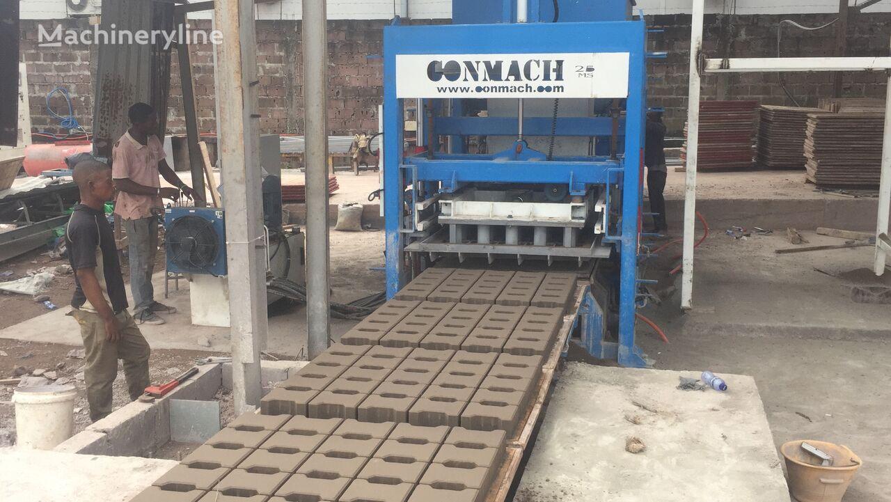 nieuw CONMACH BlockKing-25FSS Concrete Block Making Machine-10.000 units/shift betonblok machine
