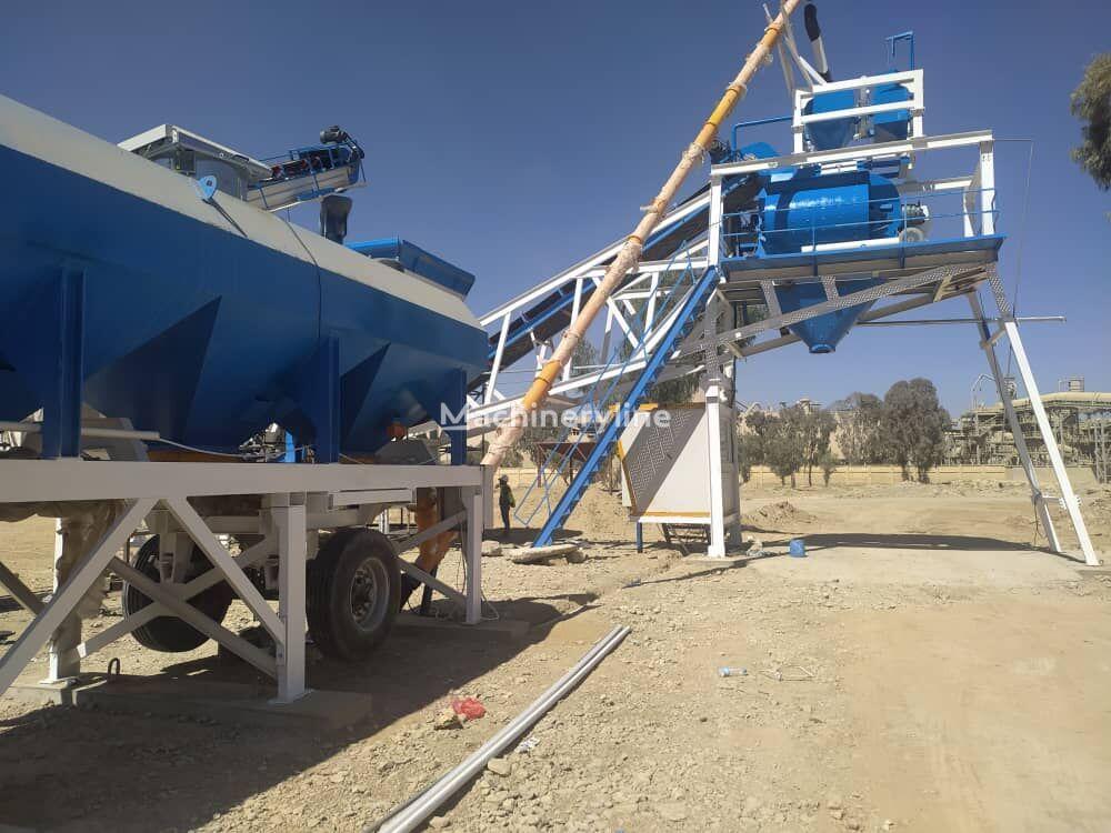 nieuw CONMACH MobKing-100 Mobile Concrete Batching Plant - 100 m3/h betoncentrale