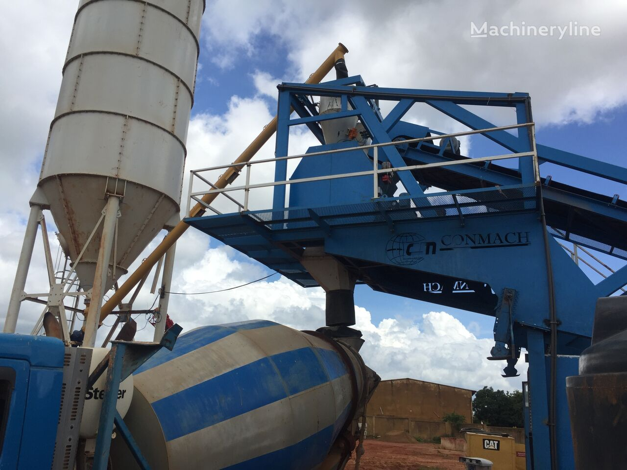 nieuw CONMACH MobKing-60 Concrete Mobile Batching Plant - 50 m3/h betoncentrale