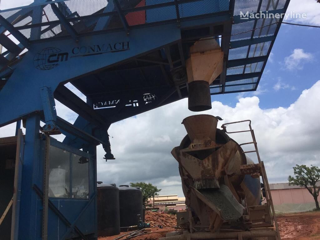nieuw CONMACH MobKing-60 Mobile Concrete Batching Plant - 50 m3/h betoncentrale