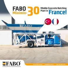 nieuw FABO MINIMIX-30M3/H MINI CENTRALE A BETON MOBILE betoncentrale