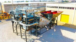 nieuw FABO TURBOMIX-120 MOBILE CONCRETE PLANT READY IN STOCK betoncentrale