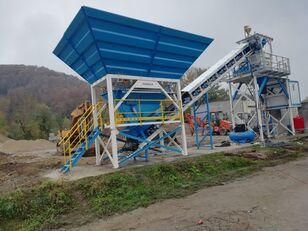nieuw PROMAX Compact Concrete Batching Plant C60-SNG-PLUS (60m3/h) betoncentrale