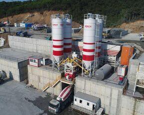 nieuw SEMIX LES CENTRALES À BÉTON FIXES Stationnaire 200 betoncentrale