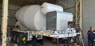 nieuw EXPOTRAILER 12 M3 betonmixer oplegger