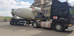 nieuw GURLESENYIL betonmixer oplegger