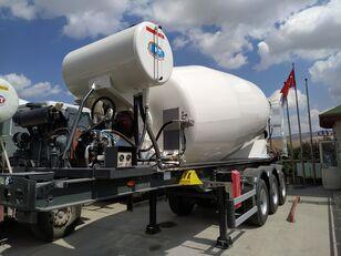 nieuw NTM 2021 betonmixer oplegger