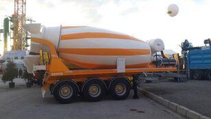 nieuw SEMIX betonmixer oplegger