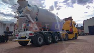 nieuw STU 12.7 CBM MIXER TRAILER betonmixer oplegger