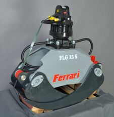 FERRARI Holzgreifer FLG 23 XS + Rotator FR55 F mobiele kraan