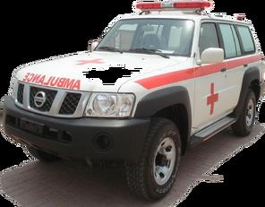 nieuw NISSAN Patrol 4.0 XE AT ambulance