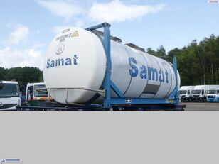 VAN HOOL Tank container 20 ft / 31 m3 20ft tankcontainer