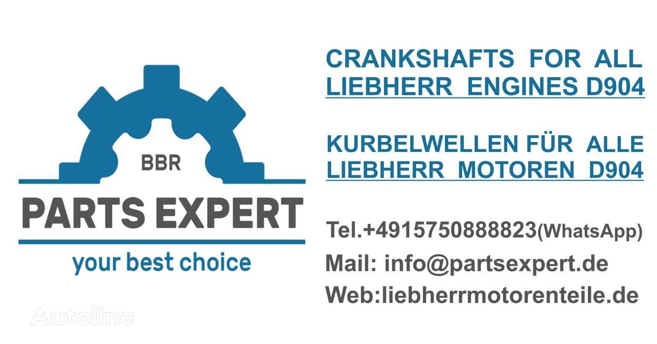 nieuw LIEBHERR D904 Motoren (966921) krukas voor LIEBHERR graafmachine